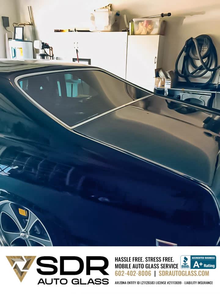 Classic SS Camaro Rear Windshield Replacement Gilbert AZ