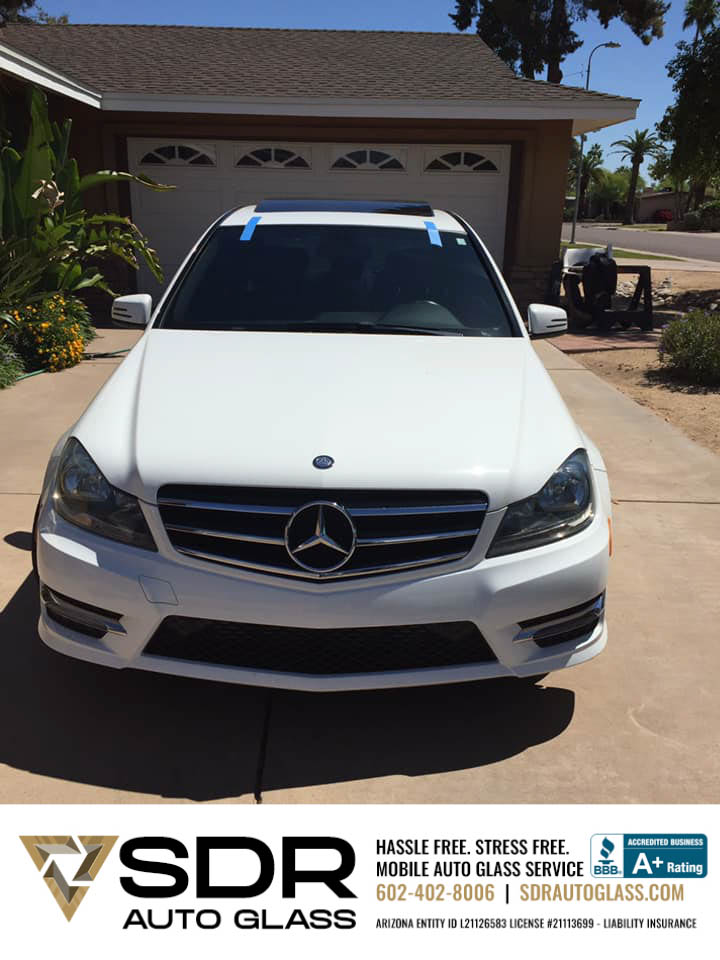 Mercedes Benz SUV Windshield Replacement Gilbert
